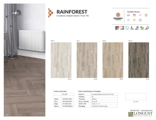 Rainforest Tile Info